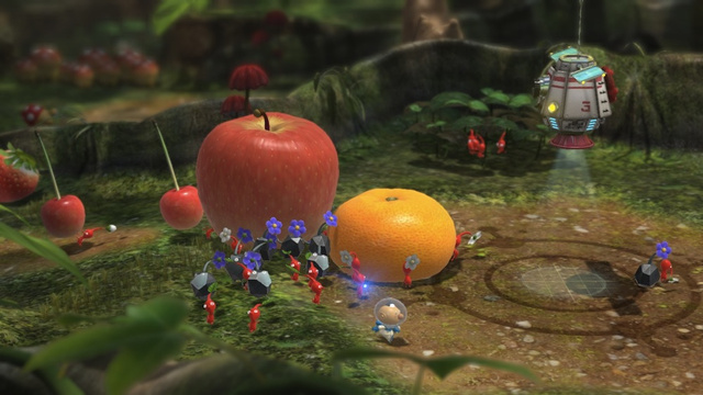 Pikmin 3 Won't Have Online, Because, Um, Because...