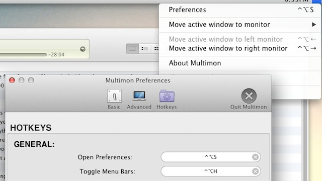 Multimon Adds Multiple Menubars, Automatic Window Resizing to Your Multi-Monitor Mac