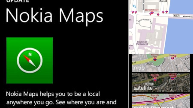 Report: Nokia Maps Replace Bing In Windows Phone 8