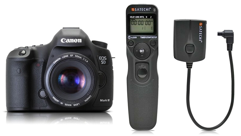 $60 Wireless Remote Controls Your Canon 5D Mark III On The Cheap