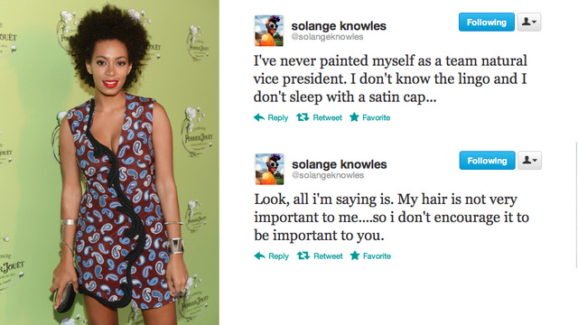 Why is Everyone Hating on Solange Knowles' Natural Hair?