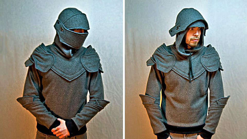 Click here to read Medieval Hoodie Makes You a Knight In Shining Cotton