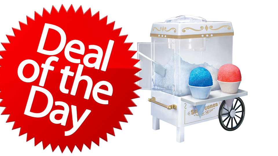 Click here to read This Old Fashioned Snow Cone Maker Is Your Sweet-Revenge Deal of the Day