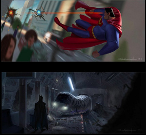 What if Pixar made a Justice League movie?