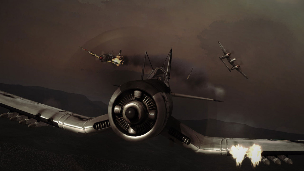 This World War II Dogfighter Barely Feels Like a Mad Catz Game Anymore