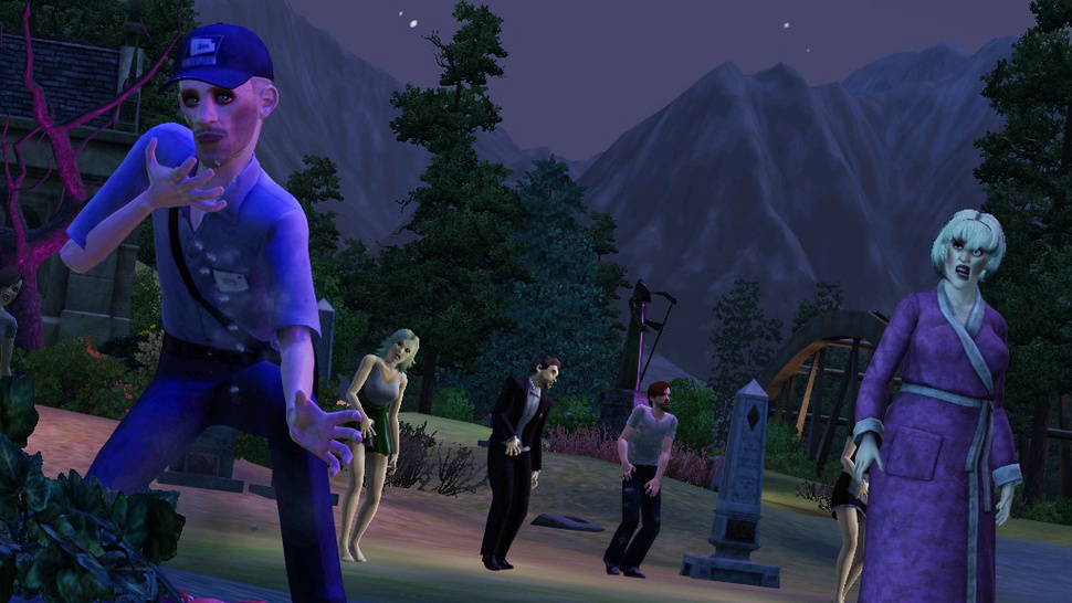 Werewolves, Zombies and Fairies Run Amok in <em>The Sims 3 Supernatural</em>