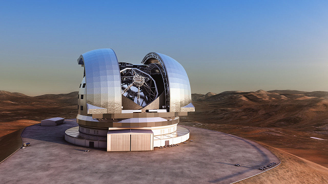 Get ready the world's largest optical telescope