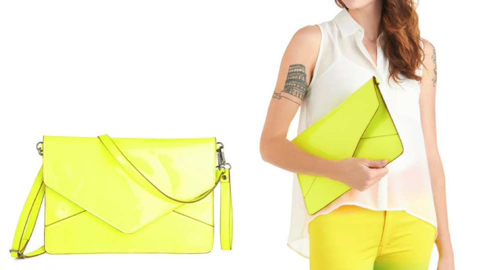 Click here to read Melie Bianco's Neon iPad Clutch Is as Stylish as You Are