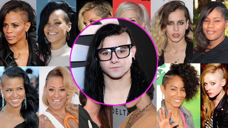 Crappy Trendspotting: Skrillex Hair