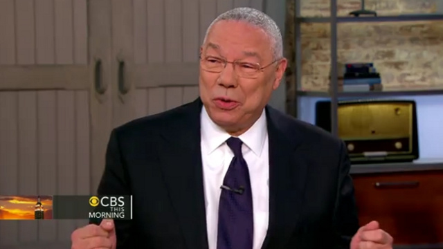 Colin Powell Belts Out Some 'Call Me Maybe' on CBS This Morning
