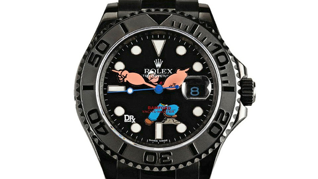 Custom Popeye Rolex Is $32,000 and Worth Every Penny