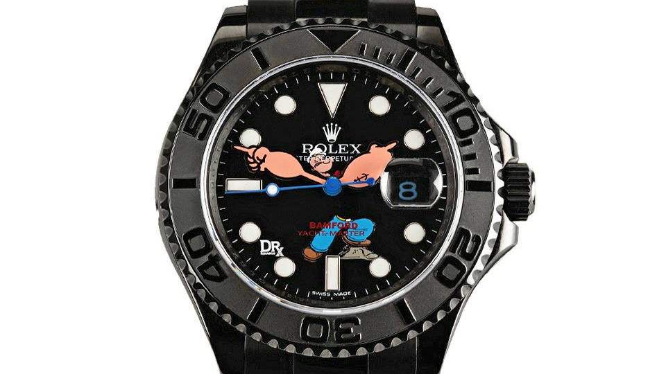 Click here to read Custom Popeye Rolex Is $32,000 and Worth Every Penny