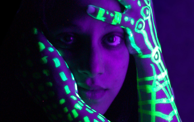 Click here to read Shooting Challenge: Blacklight Portraits
