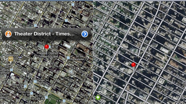 Google Maps vs. Apple Maps: A Side By Side Comparison