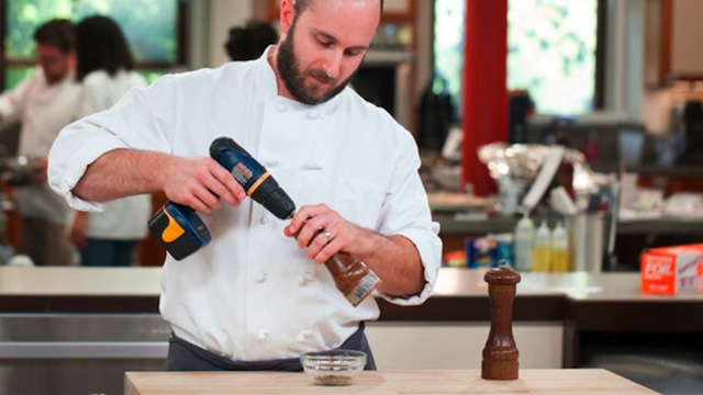 Click here to read Attach a Cordless Drill to Your Pepper Grinder for Super-Powered Pepper Production