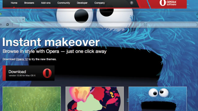 Opera Gets a Major Makeover with Beautiful Themes, Webcam Apps, Better Security, and More