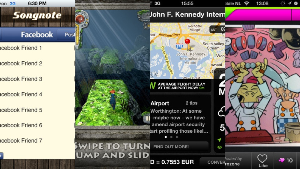 New iPhone Apps: 30/30, Songnote And More