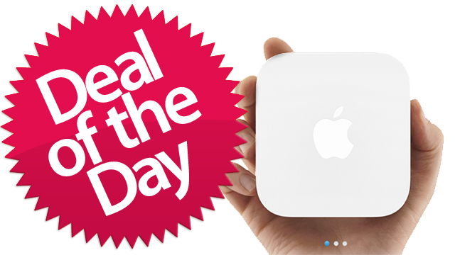 Click here to read This Apple Airport Express Is Your Better-Than-Nothin' Deal of the Day