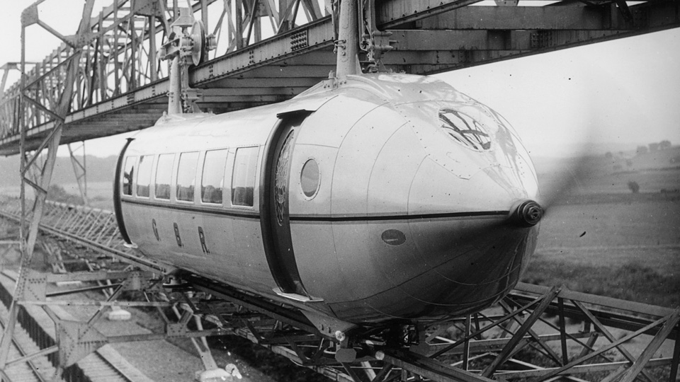 This Hanging Monorail Was Once Considered The Future Of Commuting