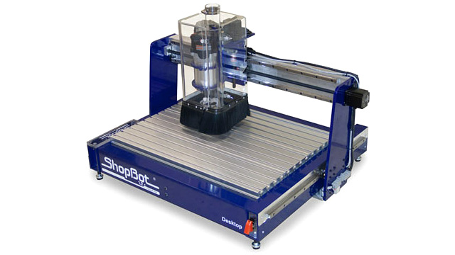 Click here to read Desktop CNC Machine Lets You Build Stuff Out of More Than Just Plastic