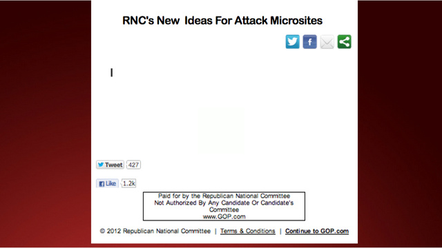 RNC Unapologetically Lifts Code From Year-Old DNC Attack Site