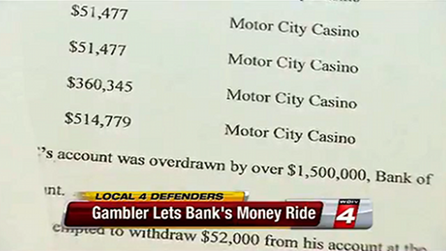 Man Goes on $1.5m Gambling Spree, After ATM Glitch Allows Him Unlimited Withdrawals