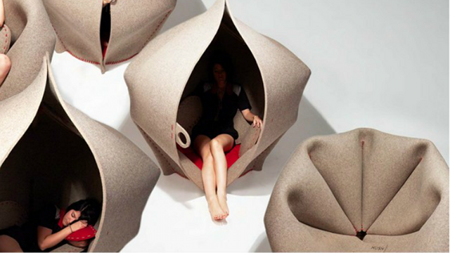 Every Position Is Fetal Position, When You Nap In This Womb-Shaped Chair