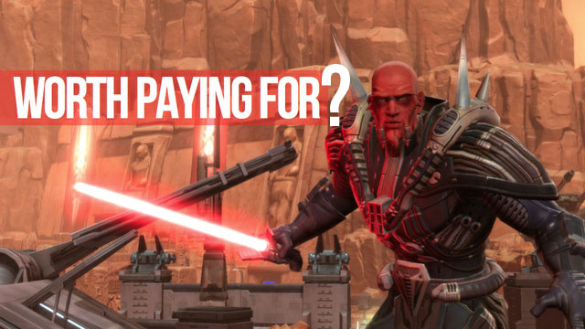 BioWare is 'Looking at Free-to-Play' for Star Wars: The Old Republic