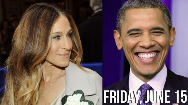 Sarah Jessica Parker Threw a Party For Obama and Aretha Franklin Bailed Almost Immediately