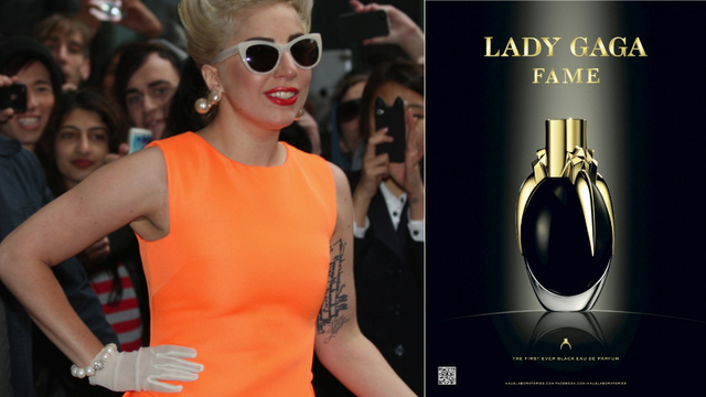 Here's Your First Look At Lady Gaga's Black Perfume