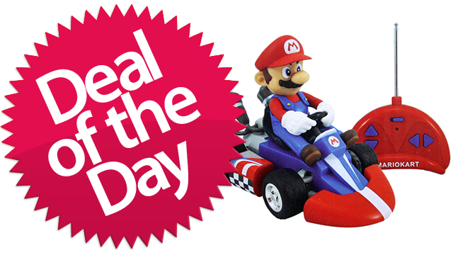 Click here to read This Radio-Controlled Mini Super Mario Kart Is Your Permanently-Lightning-Bolted Deal of the Day