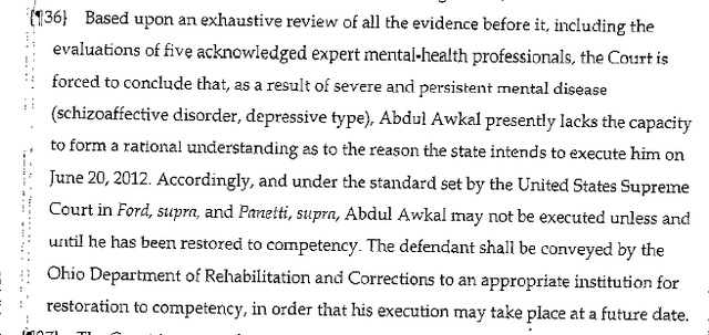 Abdul Awkal, Gawker Death Row Correspondent, Ruled Mentally Unfit for Execution