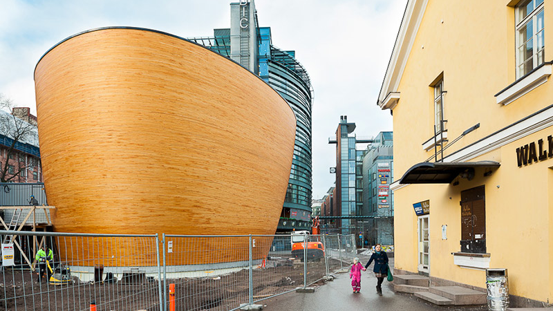 A Chapel That Looks Like Noah's Ark
