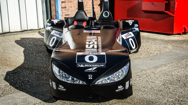 Top Gear DeltaWing Comparison Gallery