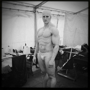 Prometheus set photos show what's under the Engineers' robes, plus a never-before-seen character