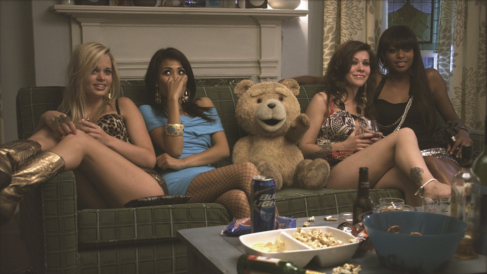High-res <em>Ted</em> photos show you how to party like a teddy bear