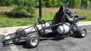Will You Be the Next Owner of This Jet-Engine Powered Go-Kart?