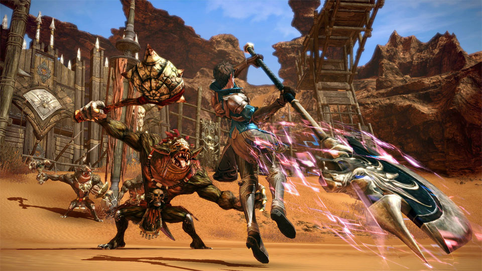 Click here to read It's a Good Weekend to Try <em>Tera</em> for Free