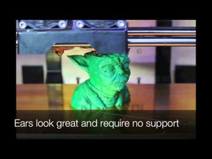 Watch This: Time Lapse Video of an Incredibly Detailed 3D-Printed Yoda