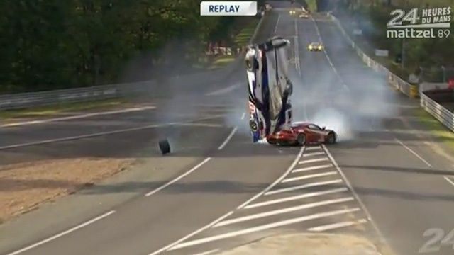 Watch Anthony Davidson's Unbelievable Le Mans Crash