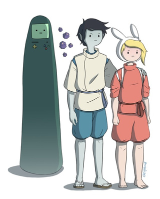 What if Studio Ghibli made an Adventure Time movie?