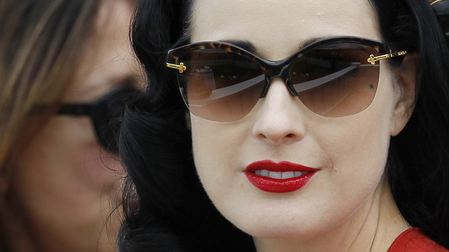 Nothing Can Stop Dita Von Teese From Transfixing You With Her Gaze