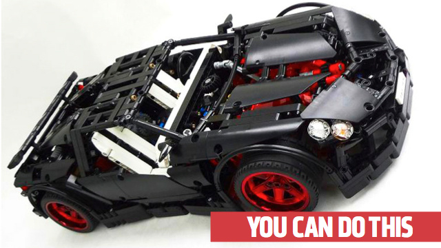 how to build a supercar out of lego. Black Bedroom Furniture Sets. Home Design Ideas