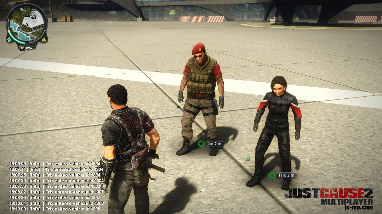 Just cause 2 bolopatch player block