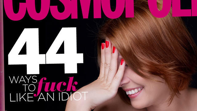 sex tips - Cosmo's 44 Most Ridiculous Sex Tips