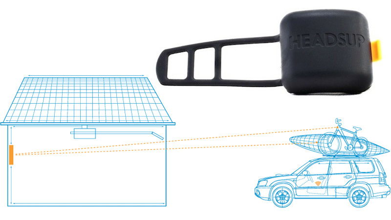 Wireless Sensor Stops You From Crushing Gear On Top Of Your Car