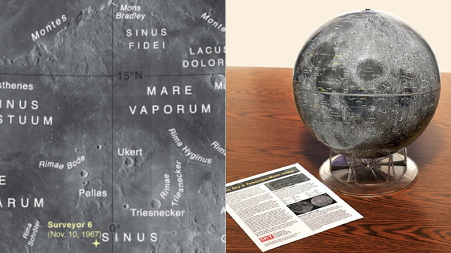 Lunar Globe Gives You an Incredibly Accurate Look at the Moon - DUPE