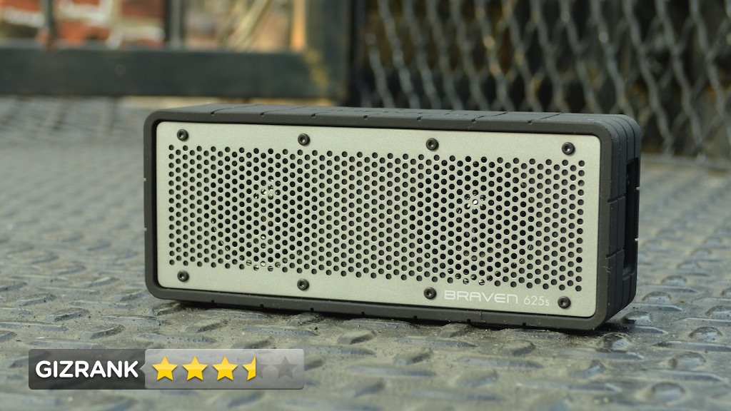 Click here to read Braven 625s Lightning Review: A Light, Cheap, Loud Little Bluetooth Speaker