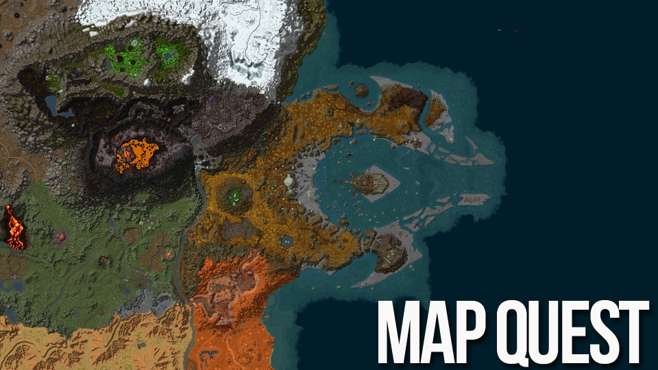 World Of Warcraft 39 s Azeroth And Expansions Mapped In