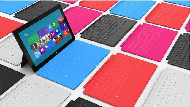 Microsoft Announces New 'Surface' Tablet PC